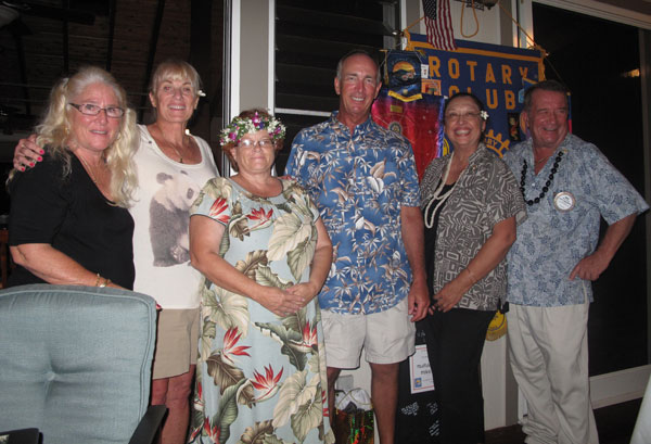 Three year planning session: Rotarians met at the West Hawaii Civic Center, giving up a Saturday morning for the benefit of the club!